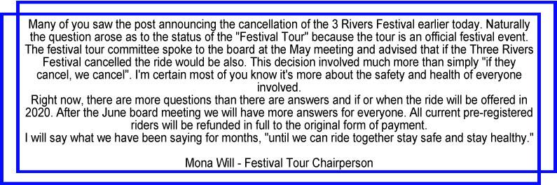 Festival Tour Change