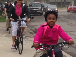 Children need safe places to bike and walk