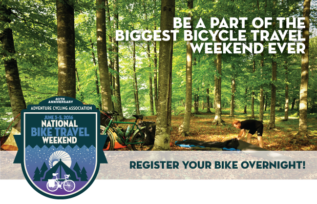 bike overnight weekend